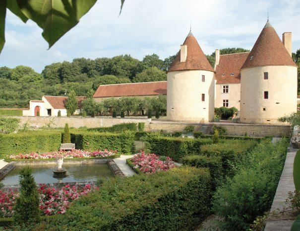 Jardin chateau corbelin 58